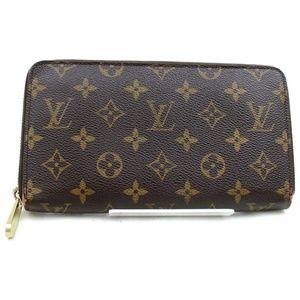 Auth Louis Vuitton Zippy Wallet Zippy Organizer